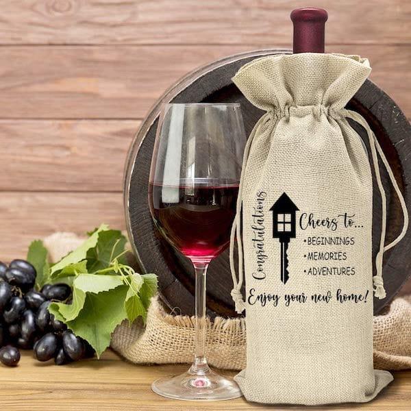 Housewarming Wine Bag