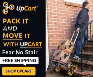 Pack it and Move It with Upcart - Fear no Stair