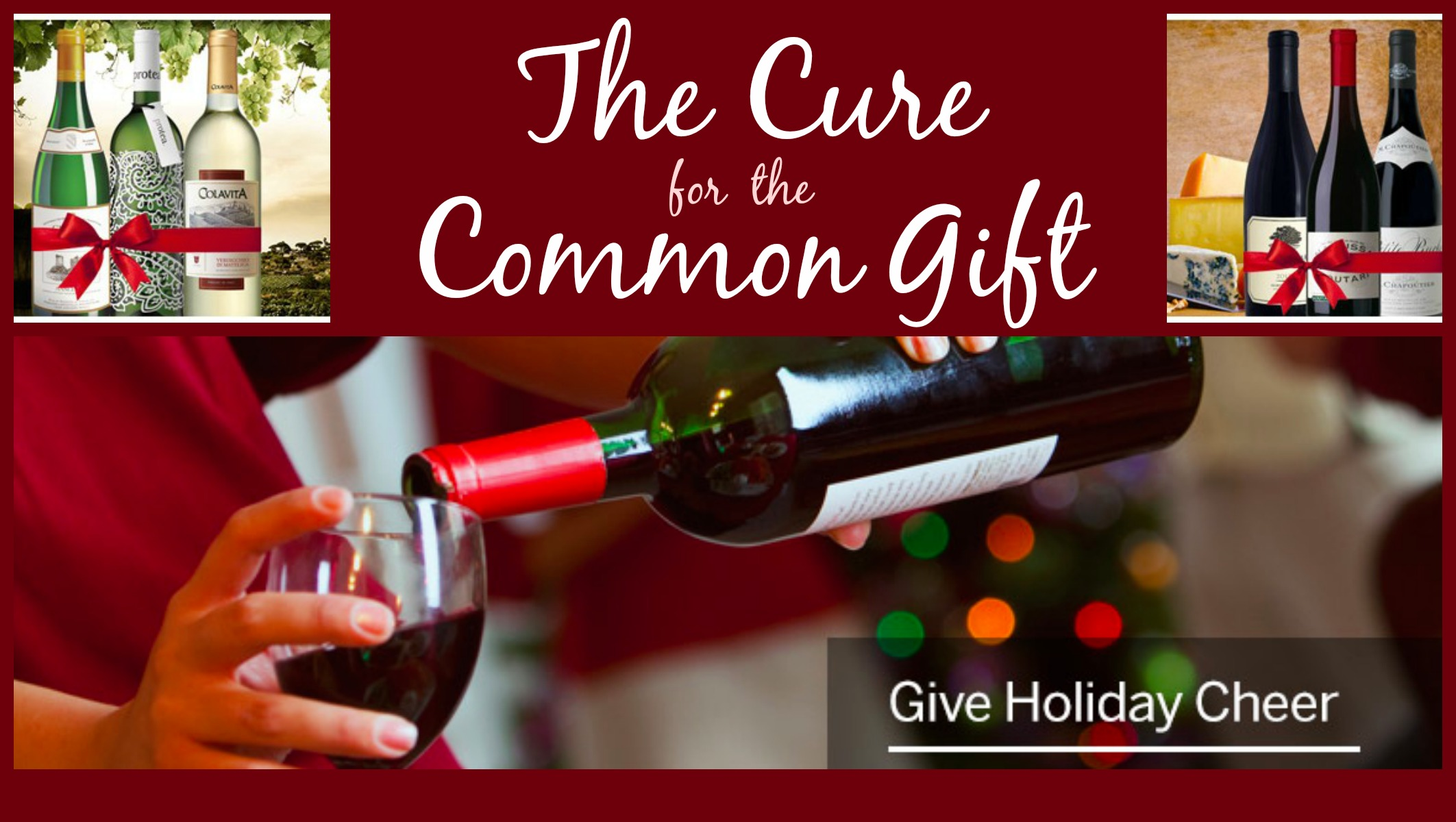 Cure for the Common Gif California Wine Club, Wine Club Subscription