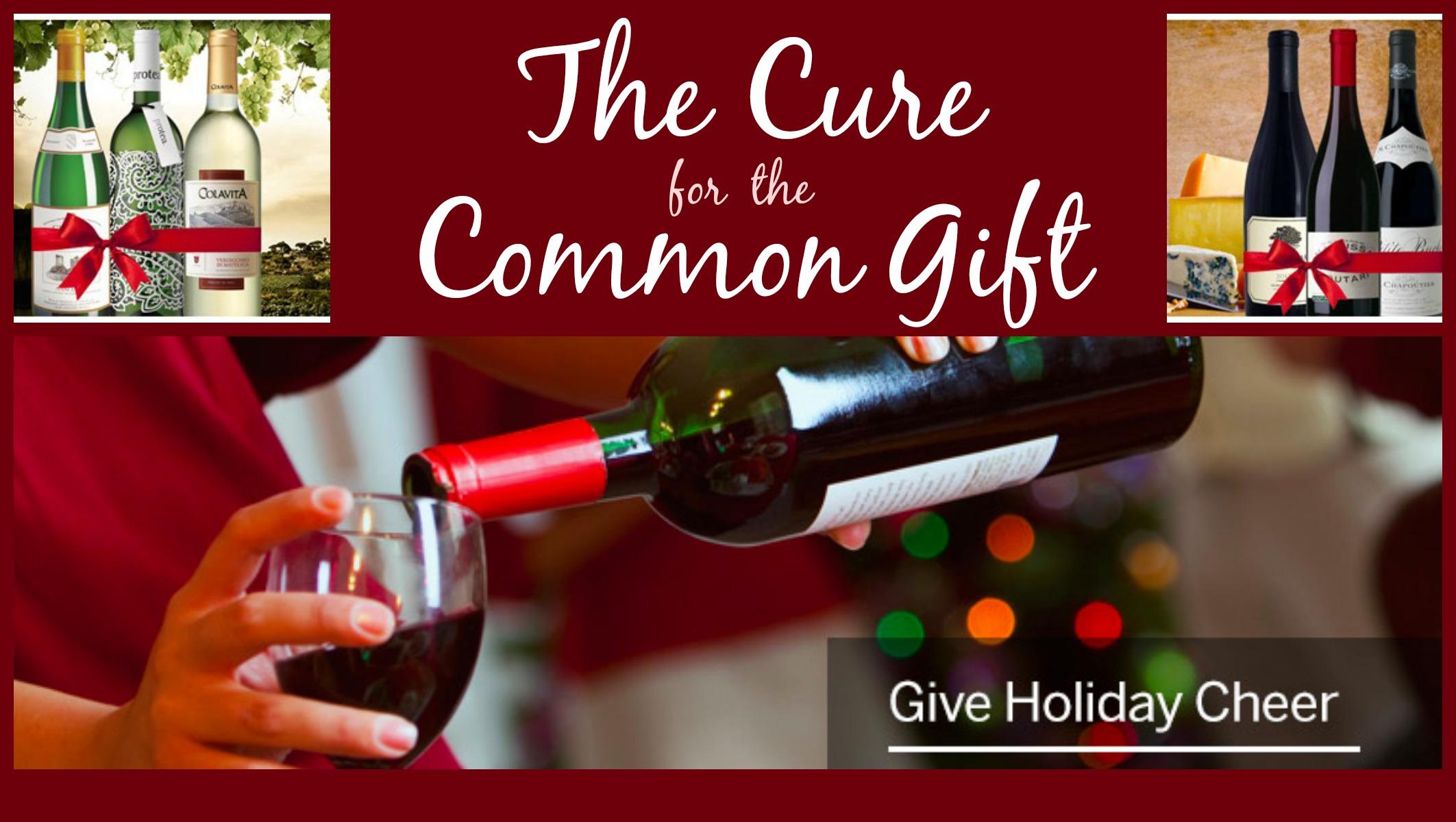 Cure for the Common Gif California Wine Club, Wine Club Subscription