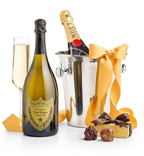 Champagne + Chocolate + Champagne Chiller