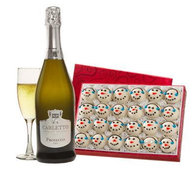 Swiss Colony Let it Snow Gift Set, Wine and Champagne Gifts