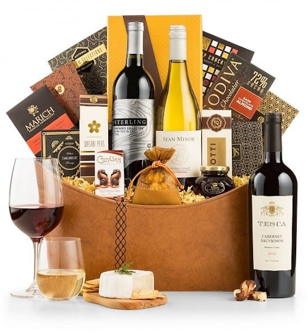 The Premier Selection Wine and Food Pairings Gift Basket
