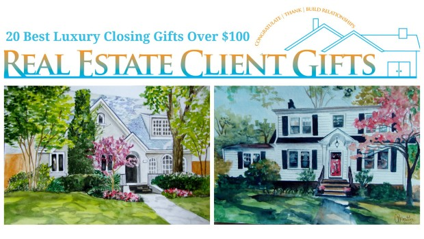 Best Luxury Realtor Closing Gift Ideas Over $100.00