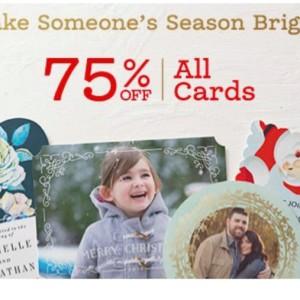 Zazzle Holiday Card Flash Sale