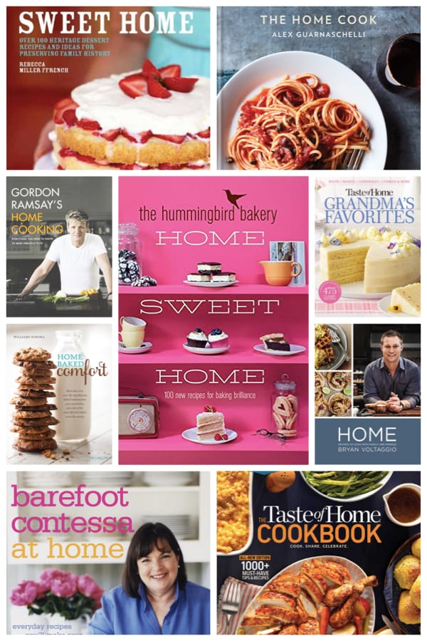 Home Sweet Home Cookbooks Make Great Women's Housewarming Gifts