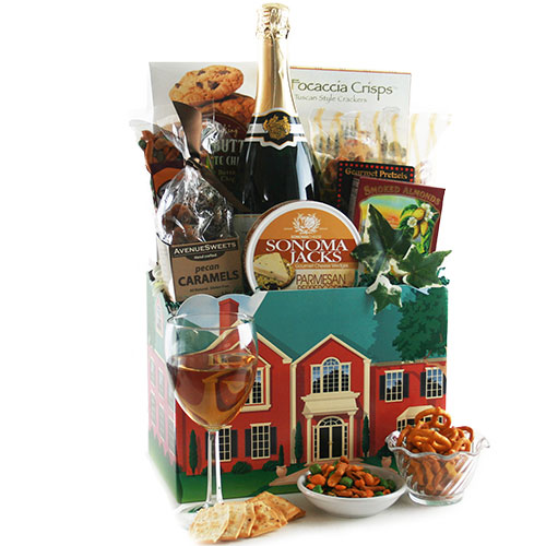 Home Gift Basket Ideas: Best Realtor Closing Gift Ideas Under $100.00