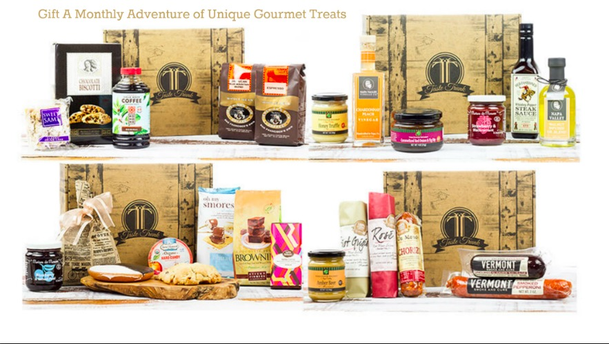 Gift A Monthly Adventure of Unique Gourmet Treats