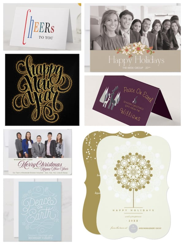 Company New Years Cards