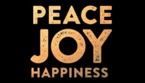 Company Peace Joy Happiness New Years Cards