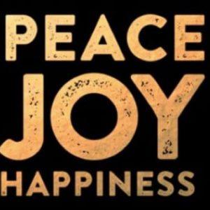 Company Peace Joy Happiness New Years Cards