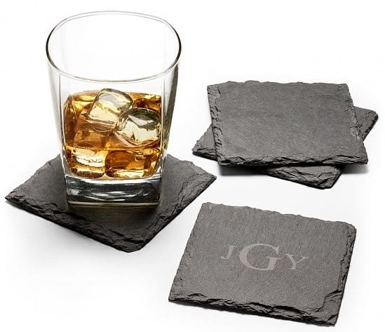Personalized Slate Coasters Realtor Closing Housewarming Gifts