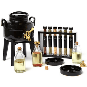 Olive oil set real estate client closing gift idea