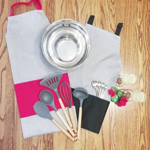 His and His Men's Kitchen Essentials + Aprons Housewarming Gift