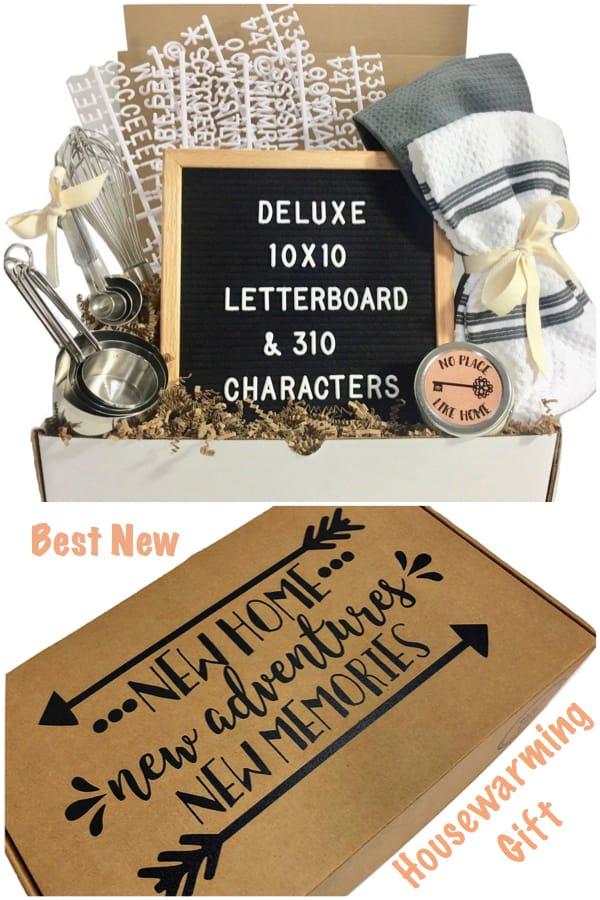 New Home New Adventures REaltor Closing Housewarming Gift