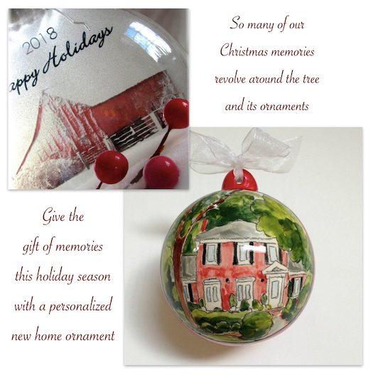 New Home Christmas Tree Ornaments Realtor Closing Holiday Gifts