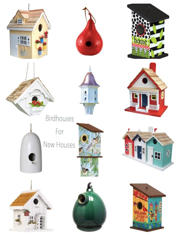 Birdhouses for New Houses Housewarming Realtor Closing Gifts