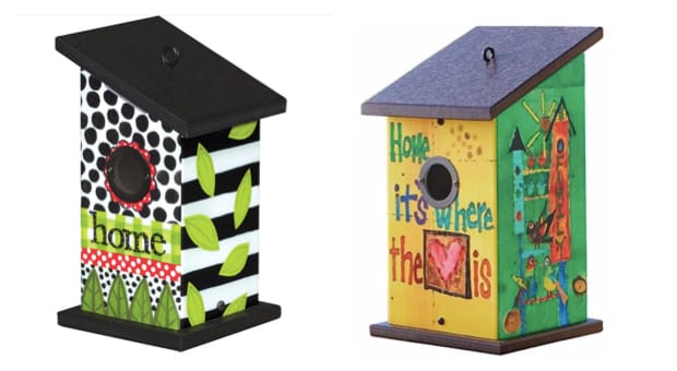 Birdhouses for their New Houses