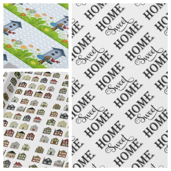 New Home Wrapping Paper