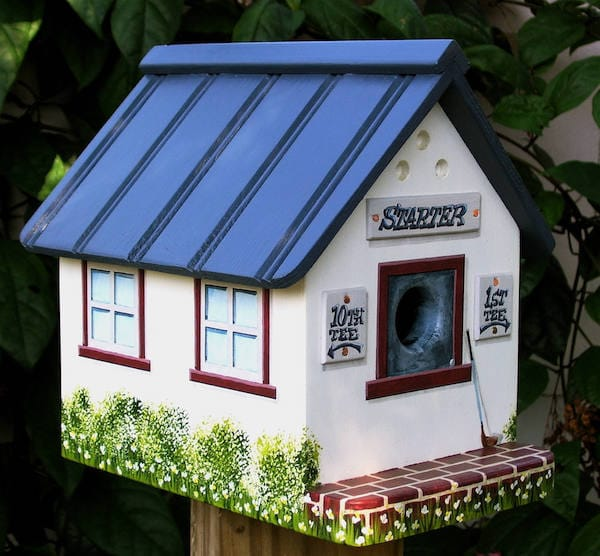 "The "" STARTER SHACK "" Birdhouse"
