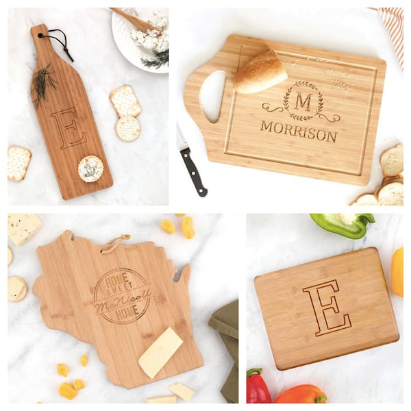 Cheese Boards and Cutting Boards Real Estate Closing Housewarming Gifts