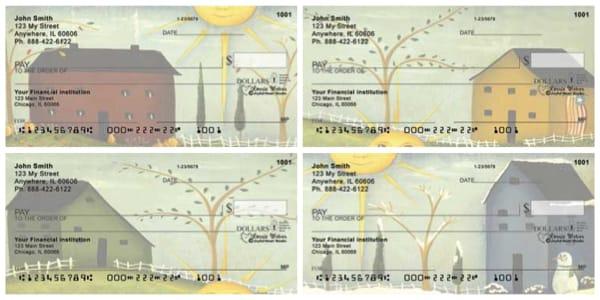 Homespun Sesasons Personal Checks