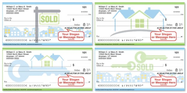 Real Estate Personal Checks