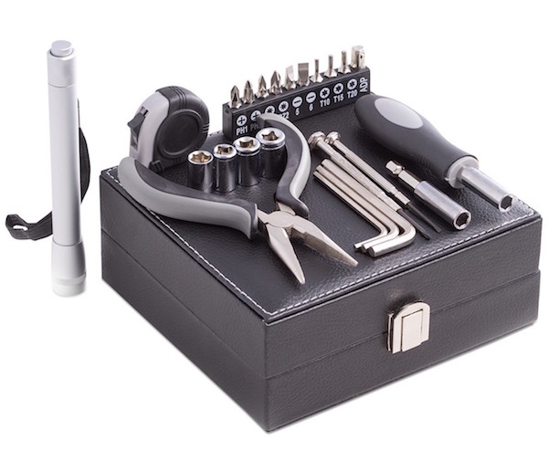 25 Piece Tool Set Housewarming Realtor Closing Gift for Him