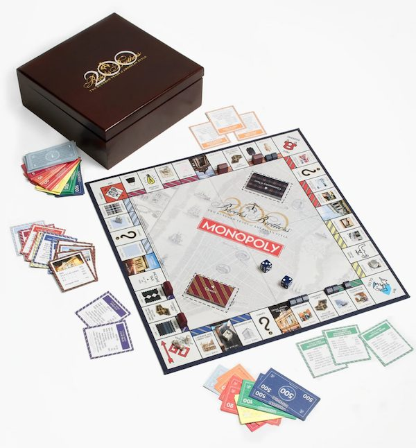 Brooks Brothers Luxury Monopoly Game Housewarming Realtor Closing Gift for Him
