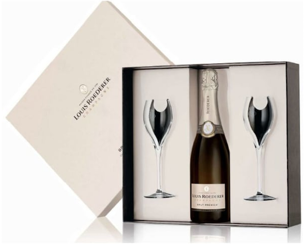 Champagne and Glasses Housewarming Realtor Closing Gift