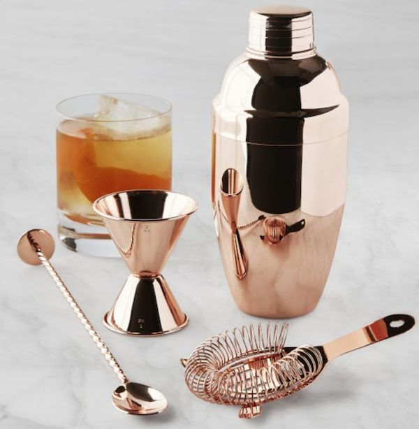 Copper Bar Tool Housewarming Realtor Gift Set
