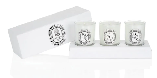 Diptyque Set of 3 Candles Housewarming Realtor Closing Gift