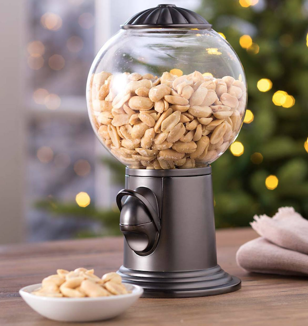Glass and Metal Snack Dispenser