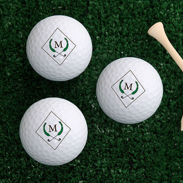 Golf Pro Personalized Golf Ball Set Gift for Him