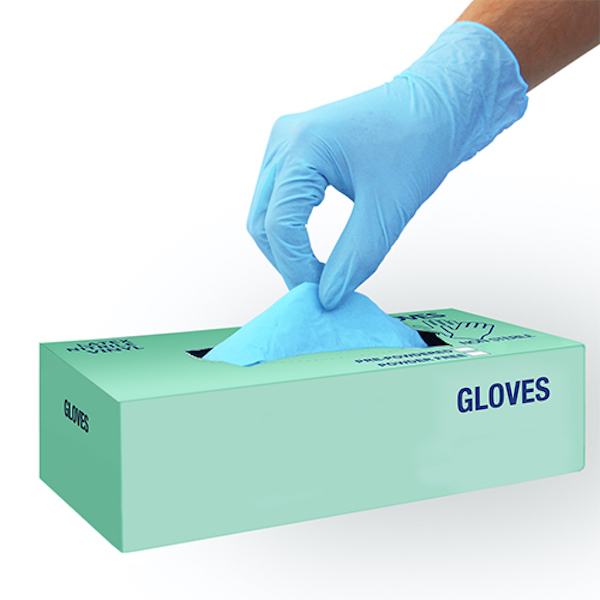 Large Size Disposable Nitrile Gloves