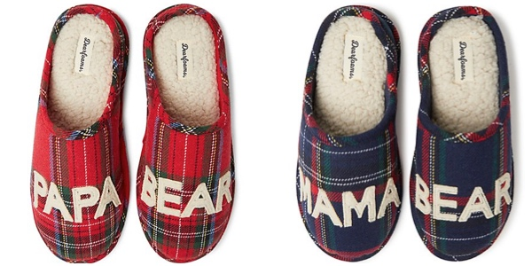 Matching Plaid Slippers Housewarming Realtor Closing Gift