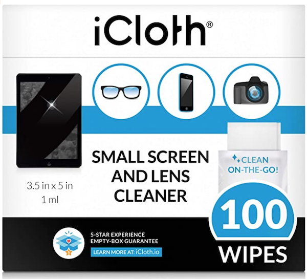 iCloth Bulk Electronic Equipment Wipes
