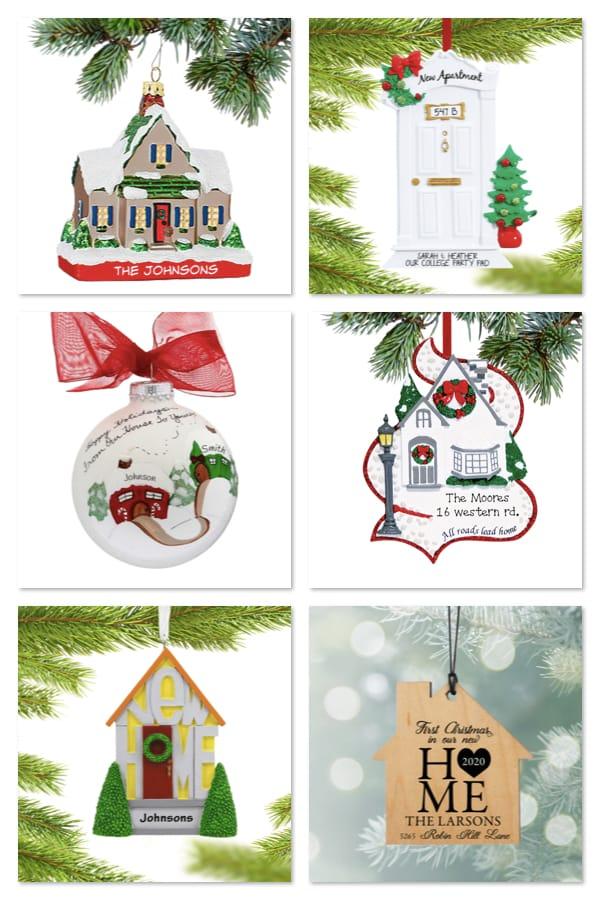 Christmas New Home Ornament Realtor Closing Housewarming Gift