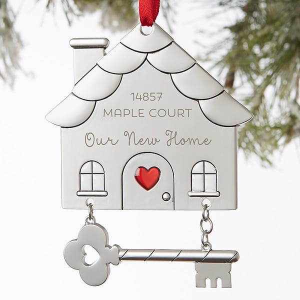 Happy New Home© Personalized Ornament