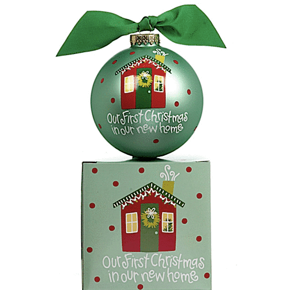 Personalized Our First Christmas in our New Home Christmas Ornament Realtor Closing Housewarming Gift