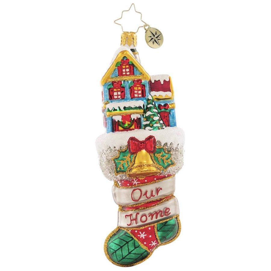 Christopher Radko Merry Home Memories Christmas Ornament